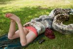 Python in the park by Devouriant