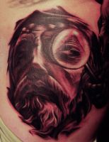 Jesus all seeing eye close up by hatefulss