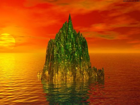 Emerald Fire V1 by James-Beatty