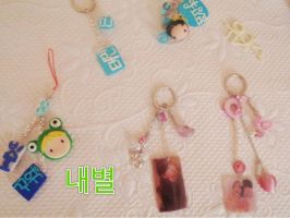 Keychains by NaeByeol
