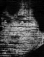 Bruce Lee Typographic Portrait 1 by SeeMooreDesigns