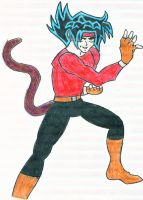 Domon Kashu, DBZ Hybrid by dhampir-angel