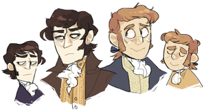 its pride and prejudice fanart by snarbolax