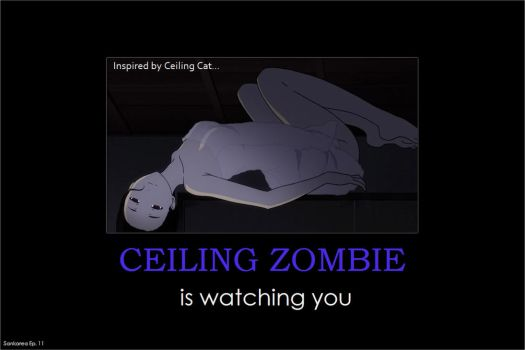 Sankarea: Ceiling Zombie is watching you by gamera68