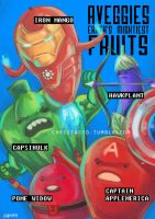 AVEGGIES, Earth's Mightiest Fruits by christasyd
