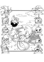 Archie Sonic's first page modernized by adamis
