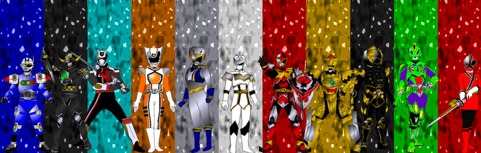 Auxiliary Rangers for asrockrpg by rangeranime