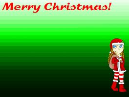Merry Christmas Wallpaper by Majix101