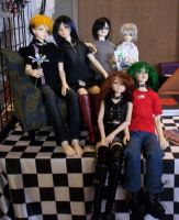 AE Dolls - Group shot by Zephra85
