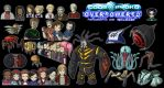 Code Lyoko Overpowered characters and monsters by Nelbsia