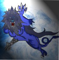 Wolf Lion Thing by ChickenChasser