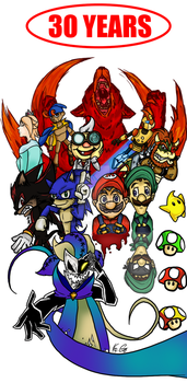 MARIO Legacy Poster by DIVISION-6