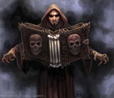 Book of the Dead for Talisman by feliciacano