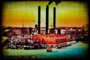 Old power plant. by simpspin