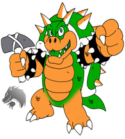 Nes Bowser by Chibi-Tediz