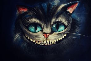 Cheshire Cat by ahsr