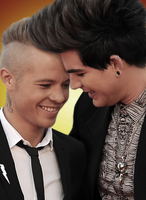Adam and Sauli by Glamsis