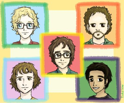 Ben Folds and the Band by Linka-Neo