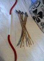 Kagome's bow and arrows (pics 2) by MultiRagnell