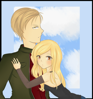 Commission  Melody and Gabriel by Elissa67