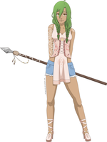 One Piece OC: Daisy Newcap by JellyPirate
