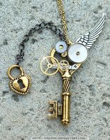 OneWing Steampunk Key by Drayok
