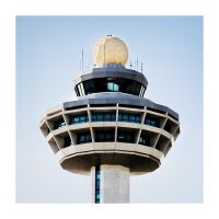 changi control tower by janrystar