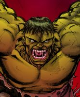 HULK attack CLOSEUP by jeaf7