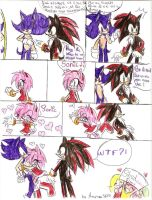 Sonic comic by LauryPinky972