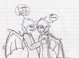 Rather Fuck Ya Than Kiss Ya :sketch: by Bloodstainedhowl