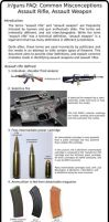Misconceptions abut assult weapon by saudi6666