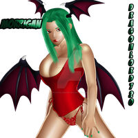 Morrigan in swimsuit! by DragonLord720
