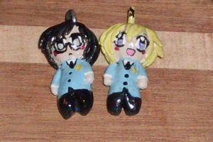 Ouran High School Host Club Charms by foxdemon123