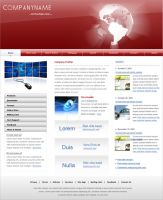 Professional Modern Web site by artistsvalley