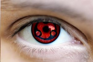 Real Sharingan Eye by NiinjaStyle