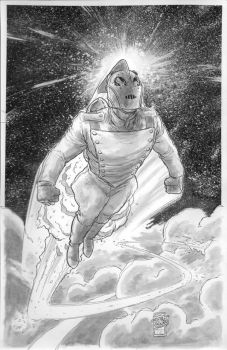 Rocketeer Commission by ToneRodriguez