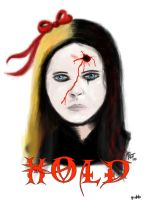 Hold... A Portrait of Pain by VerminGTi