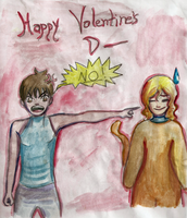 Nevermind the Valentine by goldenthyme