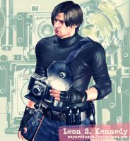 The Photographer - Leon S. Kennedy by mayarokuaya
