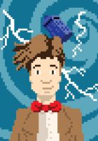 8 bit Dr who 2 by dnobody