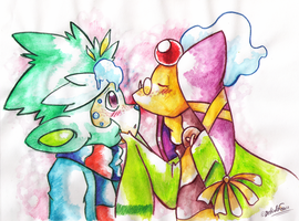 PKMNC - Love on the Battlefield by TamarinFrog