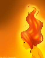 Flame Princess by auova