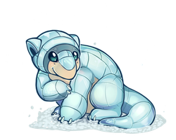 Pokemon - Alola Form Sandshrew! by oddsocket
