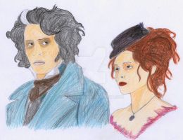 Sweeney Todd and Mrs. Lovett by mary-DBBC