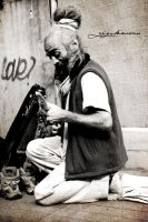 Old Musician by GozdeErcan