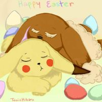 .:happy easter:. by ToxicHikaru
