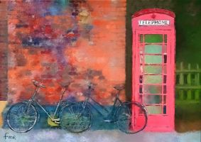 English Telephone Box by fmr0