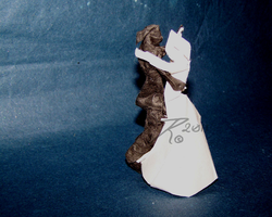 Folded Wedding by ScarecrowMarionette