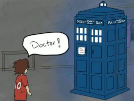 SuperWho -  Lil' Sam Meets the Doctor by MoonliteKnight