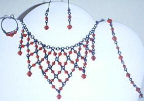 Black/Red Wire Set by unshelvedgeek